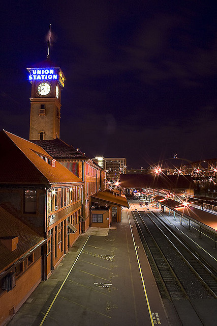 Union Station at Night (by Brian Sopke)