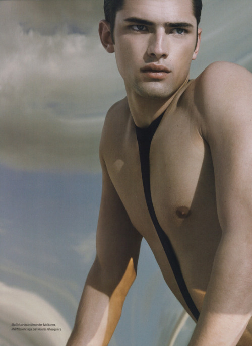 Sean O'Pry for Interview Magazine