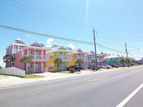 Beach Houses, Panama City Beach