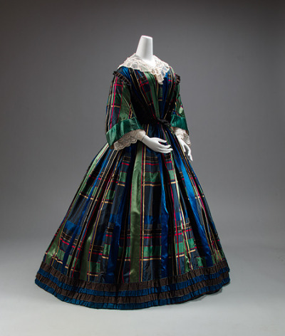 Day dress, ca. 1857