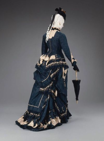 American dress, 1874–75 GOD I adore this!