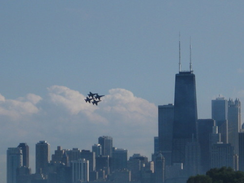 Blue Angels at the Air and Water Show today! AMAZING.