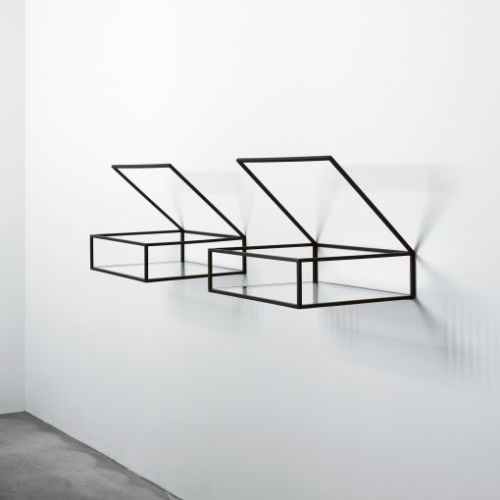 """Open Box Shelves"" by Ron Gilad."