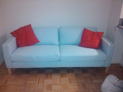 our couch!  by: wenna and giscat