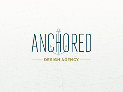 Anchored logo by Jesse Dodds