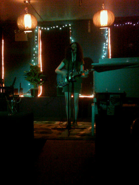 The pic is from my first gig at Googie's Lounge last week. I love the space and I love the sound there. The sound guy and the staff were really friendly, too! Can't wait to go back. This Thursday I'm playing Northeast Kingdom with Richard Duke! Starts at 10, should be fun!!