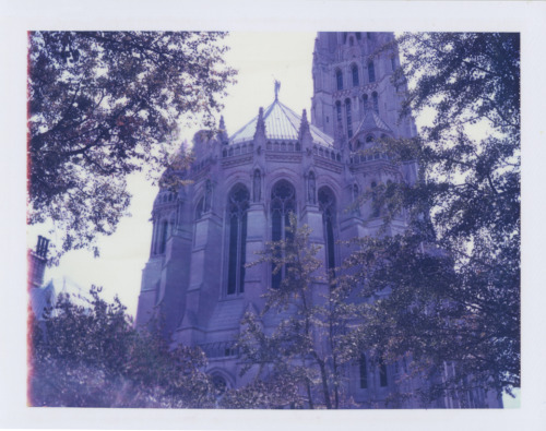 Riverside ChurchNew York, NY 2010Polaroid 440 Land Camera / Polaroid 669