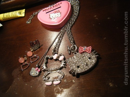 Hello Kitty Jewelry / dayumitsnhu