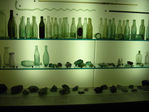 Glass display at The Manitoba Museum  … I need to get me something important to do or I'm going to spend the rest of my life reliving my exchange year. How Sad.