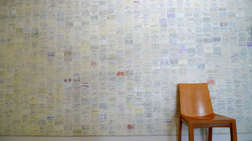 austinkleon:  Card Catalog Wallpaper Rad: the San Francisco Library uses old catalog cards as wallpaper. (via @speelunk)
