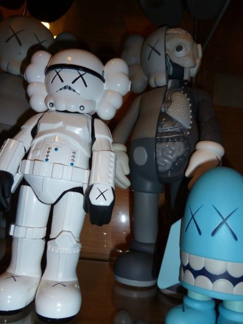 KAWS trooper + more