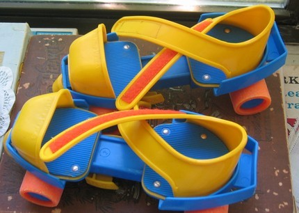 imremembering:  Fisher Price Roller Skates
