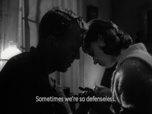 "imagenesypalabras:   ""Sometimes we're so defenseless."""