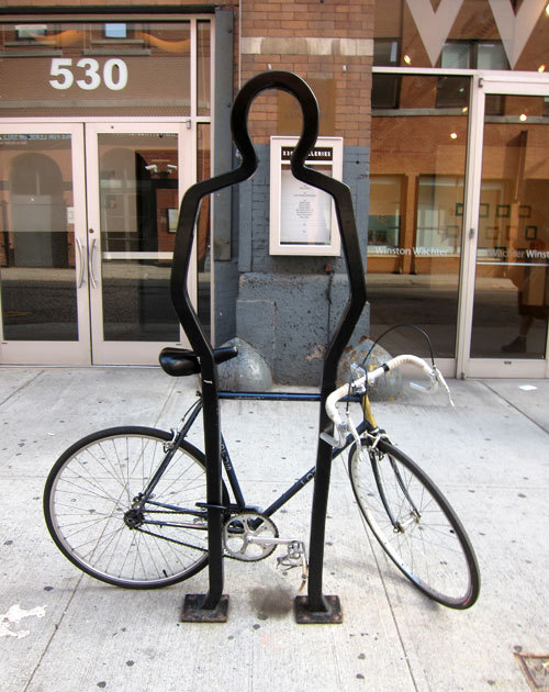 Bike Rack by David Byrne