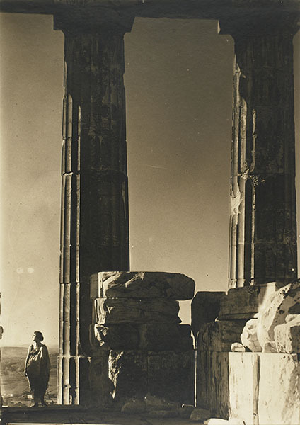 Edward Steichen, Isadora Duncan at the Parthenon, 1921* (from billyjane: via artsmia.org)