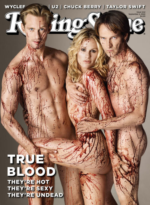 True Blood cast - Rolling Stone C'est chaud !