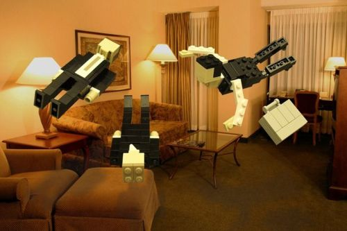 legos:  INCEPTION! Submitted by valerizzle: Happy Friday!