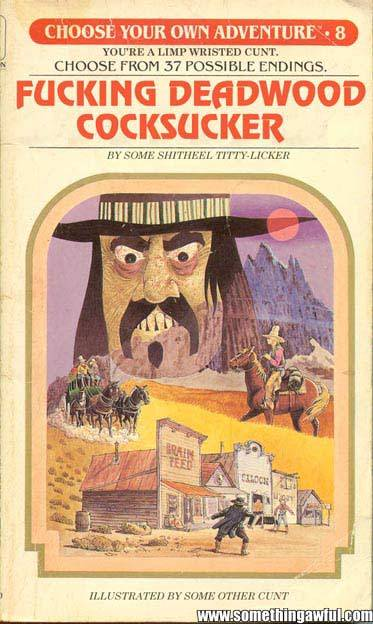 courtney:  Choose Your Own Adventure Books That Never Quite Made It This one.