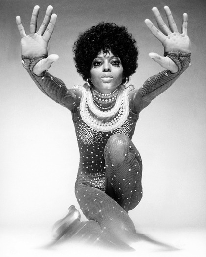 Diana Ross, 1974. Photo by Harry Langdon