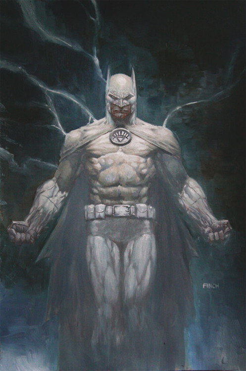 What the shit is this Batman White Lantern shit? So we all know that Bats died at the beginning of Blackest Night and that he was going through time to get back to the present and come back and kick a lot of ass. But this cover for Brightest Day #13 seems pretty unambiguous that Batman will be coming back as the White Lantern. Huh.  Via