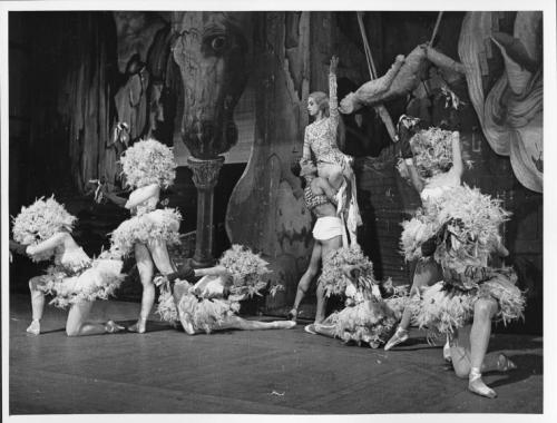 Mad Tristan,1949?[ Salvador Dali's ballet * premiered in December of 1944]  choreography by Leonide Massine photo by Roger Wood via NYPL
