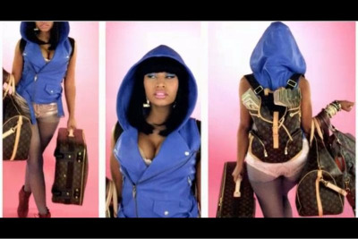 Nicki Minaj x LV Money Bags