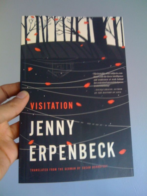 My cover for Jenny Erpenbeck's Visitation US version. AD: talented Rodrigo Corral