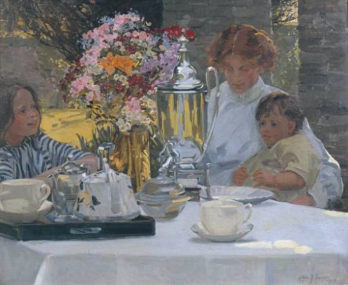 Hilda Fearon The Tea Party 1916