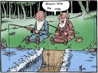 Moses the joker. Seen at jesuslovesdesign's nice design blog. (from mysistersaclown)