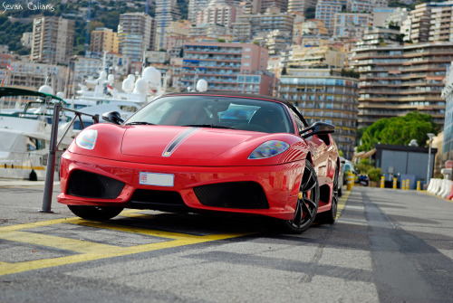 maycontainawesome:  motoriginal:  Downtown Mariner: Ferrari F430 Scuderia 16M Spider