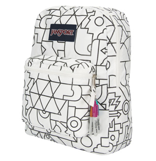 JanSport Color Me Backpack. Grab a marker & go to town designing your backpack the way you want it this school year. // We love this idea!