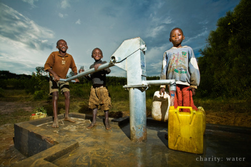 "How Branding and Transparency Help charity: water Stand Out Scott Harrison from charity: water stopped by the new 37signals office to speak to the team about the unconventional ways that charity: water stands out from other charities through branding and transparency.  Another key to CW's success is that 100% of donations are used for direct water project costs. (A group of private donors, foundations and sponsors help pay for the everyday costs of running the organization.) CW even pays for the paypal and credit card transaction fees when people donate online so each penny goes straight to actually building a well.  Read the post ""How branding and transparency help charity: water stand out"" on 37signals - signal vs. noise."