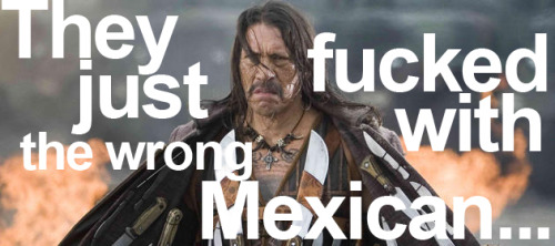 "Machete: Everything We Know They just fucked with the wrong Mexican… Despite the wealth of problems surrounding Robert Rodriguez and Quentin Tarantino's Grindhouse project (the fact that us Brits never got to see the film in all it's double-feature glory being chief among them), a two-minute sliver of balls-out action stood out amid a swathe of iffy reviews. It was the fake trailer for an old-school exploitation movie named Machete, and it was pretty damn awesome. Not that director Robert Rodriguez ever expected it to be quite so popular, as rabid fans everywhere began clamouring for the full-length movie ""promised"" by the trailer. Read the full article at Total Film."