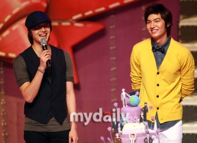 at lee min ho's birthday fan meeting, june 2010