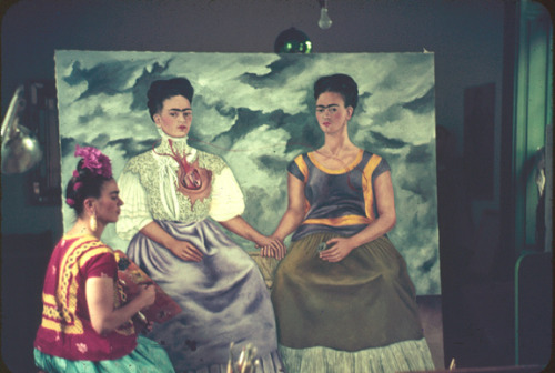 wildflowers-:  Frida Kahlo by Nickolas Murray