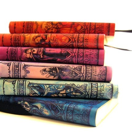 hrrypotter:  I want the Ophelia, Twelfth Night, or Midsummer journal. They're all so pretty!  I'm partial to the Portia and Midsummer journals, myself. Might have to link these to my husband for Christmas.