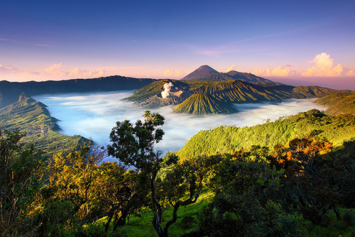 theworldwelivein:  Bromo-Tengger-Semeru, Java, Indonesia © tropicaLiving