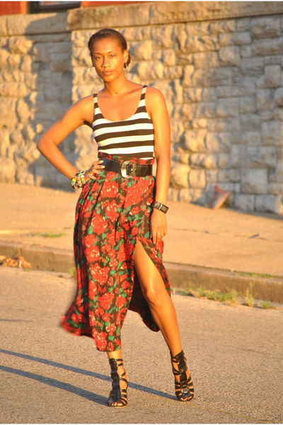 Forever21 top - vintage skirt - ASH shoes - Into the sunlight - Tamia's blog - Chictopia