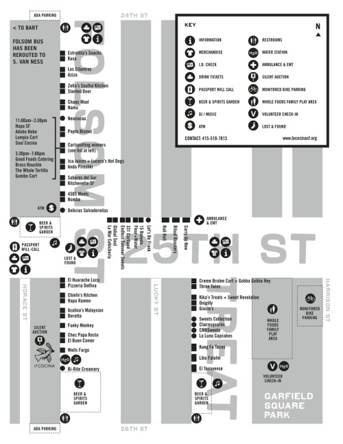 San Francisco Street Food Fest Map (2)