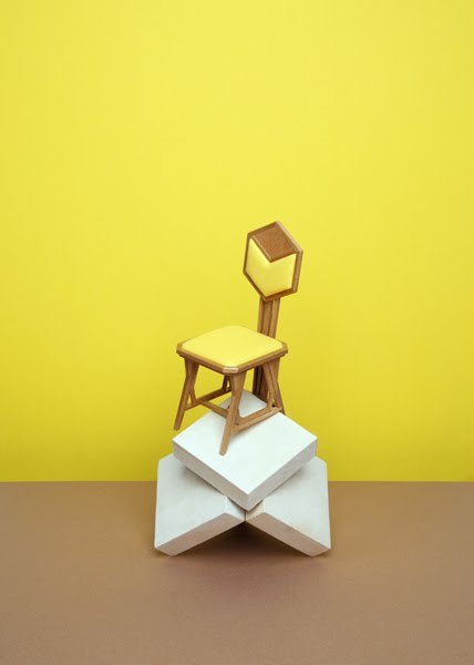 eloisemoorehead:  Vitra miniature chair by Dutch still life photogapher Wyne Veen via Junk Culture