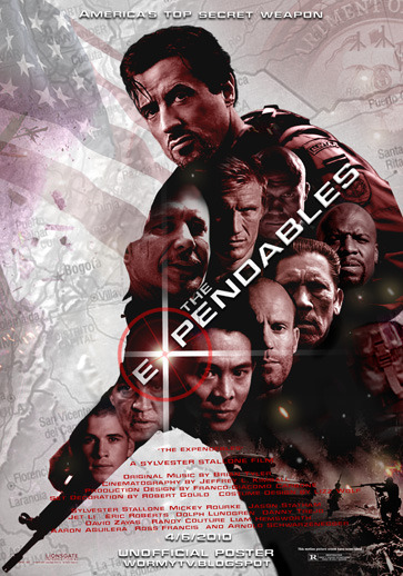 The Expendables - Okay, so I've just watched this movie a couple of days ago. I think, overall this movie is great. Fulfilled with action, shooting, fighting, etc etc. But, the story isn't that interesting. But I still love the action though :p I give this movie 7,5 / 10.