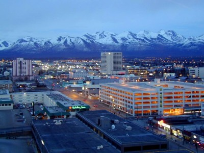 Anchorage, Alaska, is the state's most populated city, with over 285,000 denizens. It grew due to its location as a railroad post, and was incorporated in 1920. Temperatures in Anchorage can range from lows of 5 degrees in the winter to highs of 78 degrees in the summer. Contrary to popular perception, only 18% of Anchorage's population consist of Inuit, otherwise known as Native Alaskans. (They get super pissed if you call them Eskimos!) 6% is made up of polar bears, and 9% are polar bears who are in Alaska illegally. In the 90's, as much as 11% of the population was comprised of Native Americans, but they soon left after realizing it was too difficult to run casinos in a place where the official currency is ice cubes.
