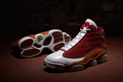 Check out the recent release of the Air Jordan XIII Retro Premio 23! There have been a mix of disappointing and classic designs for retroes, this is a definite blend that stays true to the effect of the sneaker but adds a new twist (this with the colorway but with a funky wax style stamp). One of the more popular Jordan models, this XIII is definitely worth adding to the collection!!!BK!!