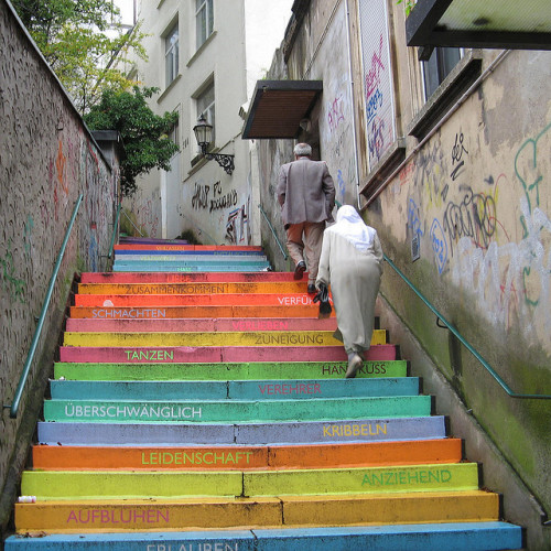 Stairs (by Frizztext)