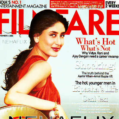 This is my all time favorite picture of Bebo. Aah Filmfare, sometimes you do it so right!