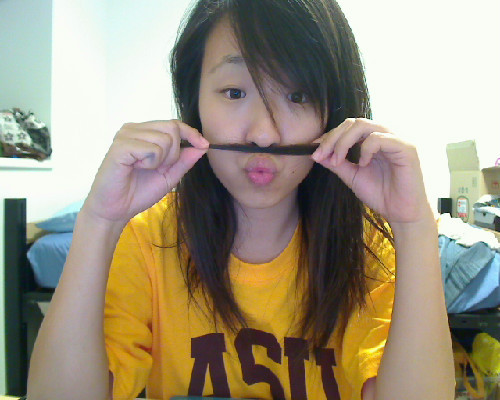 I mustache you a question. ;)Just kidding. Goodnight, tumblr! :D I hope I don't oversleep again. -_-