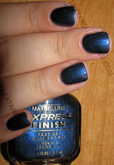 "Maybelline Express Finish, ""Blue Riders"". ETA: I forgot the link! Argh! From here."