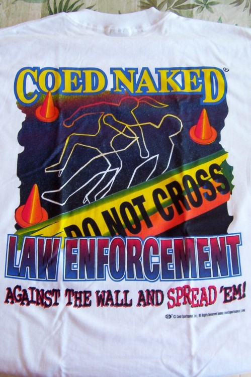 Co-Ed Naked Shirts Remembered by newwavecrashing