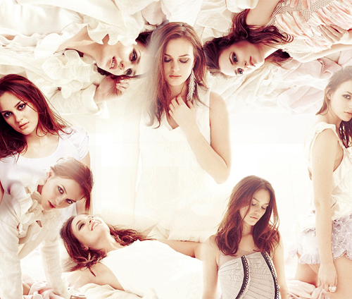 Leighton Meester | Instyle UK, March 2010