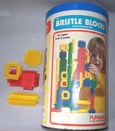 Bristle Blocks  (Remembered by Kellync)